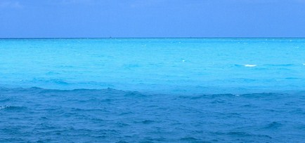 Why is the ocean blue for Colors that go with ocean blue