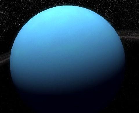 Why is Uranus blue